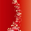 Abstract valentine background — Vettoriali Stock