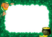 Border for St. Patrick — Stock Vector