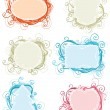 Royalty-Free Stock Vector: Ornate frames.