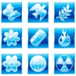 Set environment icons (part 2) — Stock Vector