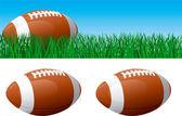 Fútbol americano — Vector de stock