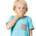 Shocked frightened boy — Stock Photo #19419917