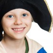 Cute happy pirate boy — Stock Photo #27146069