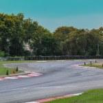 Постер, плакат: Race track curve