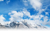 Beautiful snow mountain — Stock Photo