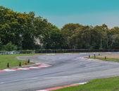 Race track curve — Stock Photo