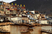Temple in Tibet — Stock Photo