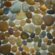 Wall round stone rock texture — Stock Photo #21471917