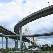 Bhumibol Bridge — Stock Photo