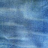 Modré džíny — Stock fotografie
