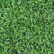 Artificial grass soccer field — Stock Photo