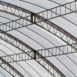 Canvas roof of stadium — Stock Photo