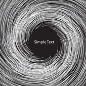 White circle abstract — Stock Vector
