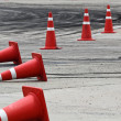 Stock Photo: Traffic cone