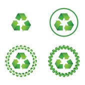 Recycle symbo — Stock Vector