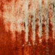 Red paint texture on wall grunge — Stock Photo