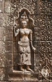 Apsara sculptures — Stock Photo