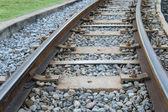 Železnice — Stock fotografie