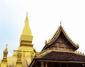 Wat Phra That Luang — Stock Photo