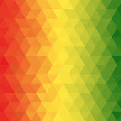 Geometric reggae background — Stock Vector