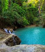 Cascada de kuang si — Foto de Stock