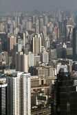Top view city — Stock Photo