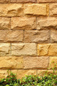 Stone brick wall — Stock Photo