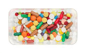 Pills, capsules and tablets — Foto Stock