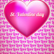 Cute Valentine Background — Vecteur #26512197