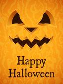 Sfondo di zucca di halloween. — Vettoriale Stock
