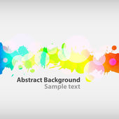 Colorful ink abstract background. — Stock Vector