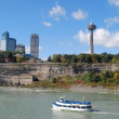 Niagara Falls ,and Maid of the Mist, Canada — Stock Photo