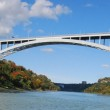 Rainbow Bridge at Niagara Falls USA, and Canada Border — Stock Photo #12127668