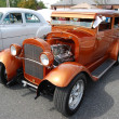 Stock Photo: 1936 Orange Ford Classic Car