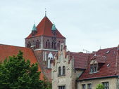 Roofs, Hanseatic City of Greifswald, Germany — Stock Photo