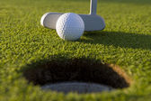 Short Golf Putt — Stock Photo