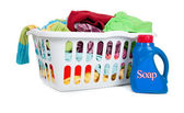 Laundry Basket — Foto Stock