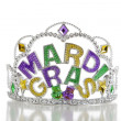 Mardi Gras Crown - Foto Stock