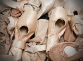 Ballet Shoes or Slippers — Stock Photo