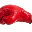 Throwing a punch! — Stock Photo