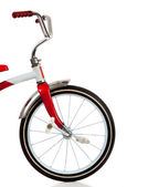 A red Tricycle on White — Stock Photo