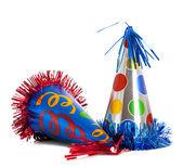 Birthday party hats — Stock Photo