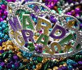 Mardi Gras Crown — Stock Photo