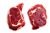 Fresh Beef Ribeye Steak — Stock Photo