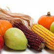 Assorted fall vegetables as a background — Stock Photo #13420884