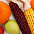 Assorted fall vegetables as a background — Stock Photo #13421254