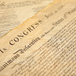 Declaration of independence — Stock Photo
