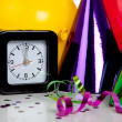New years eve decorations — Stock Photo