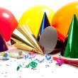 Party hats on white background — Stock Photo #13443153