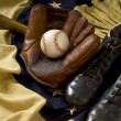 Vintage Baseball Gear — Foto de Stock